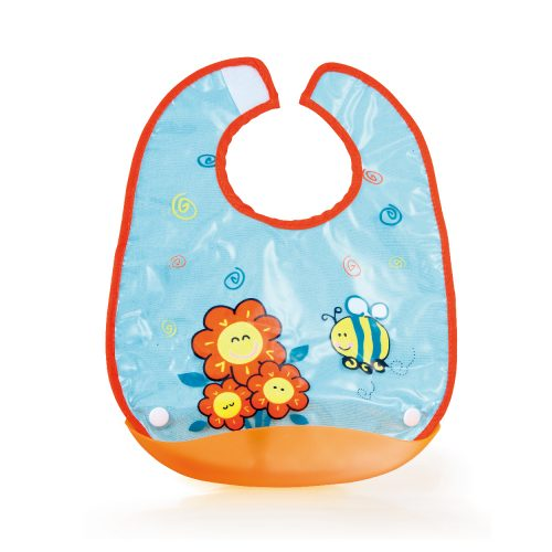 Honey Bee Baby Bib (with Detachable Catcher)