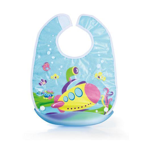 Submarine Baby Bib (with Detachable Catcher)