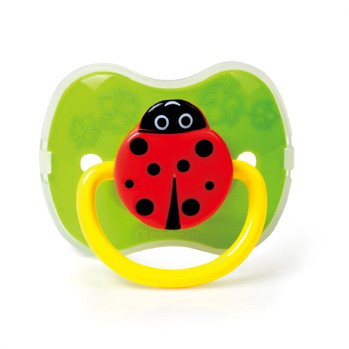 Ladybug Pacifier (Silicone Teat)