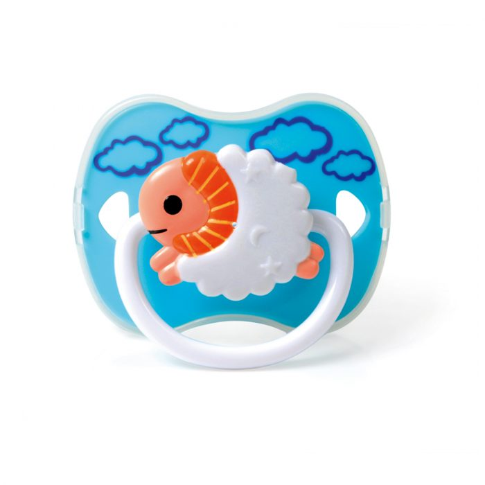 Sheep Pacifier with Cover (Silicone Teat)