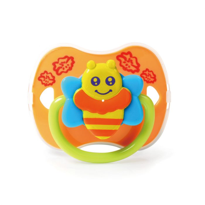 Bee Pacifier with Cover (Silicone Teat)