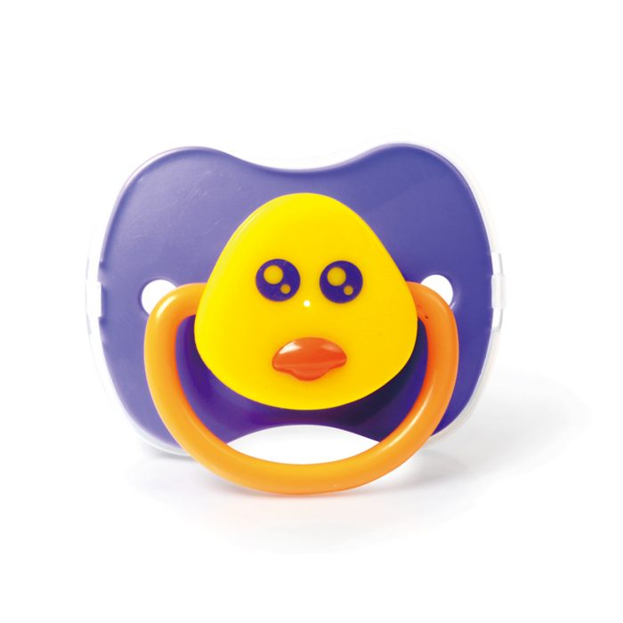 Duck Pacifier with Cover (Silicone Teat)