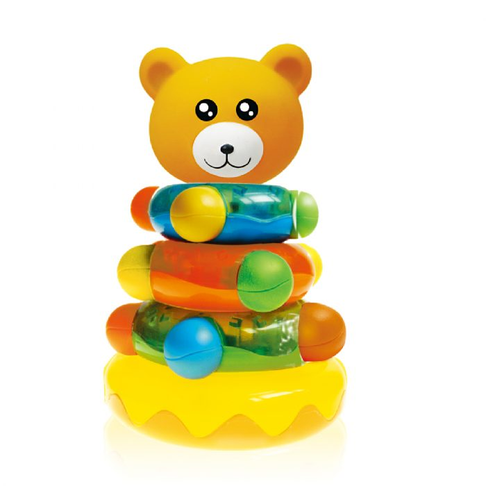 Stacking Ring with Bear