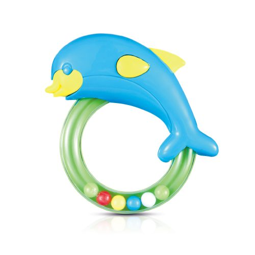 Dolphin On Ring Rattle