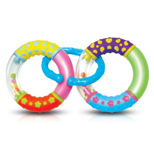 2 Rings Rattle(W/Snap Ring)