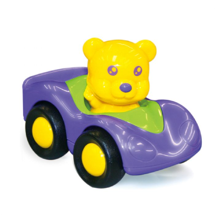 Toy Racer with Bear