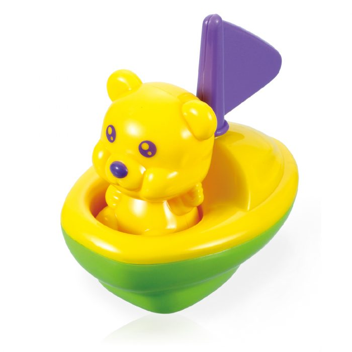 Toy Yacht with Bear