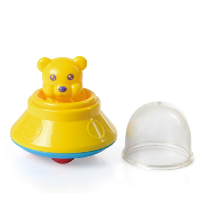 Toy UFO with Bear