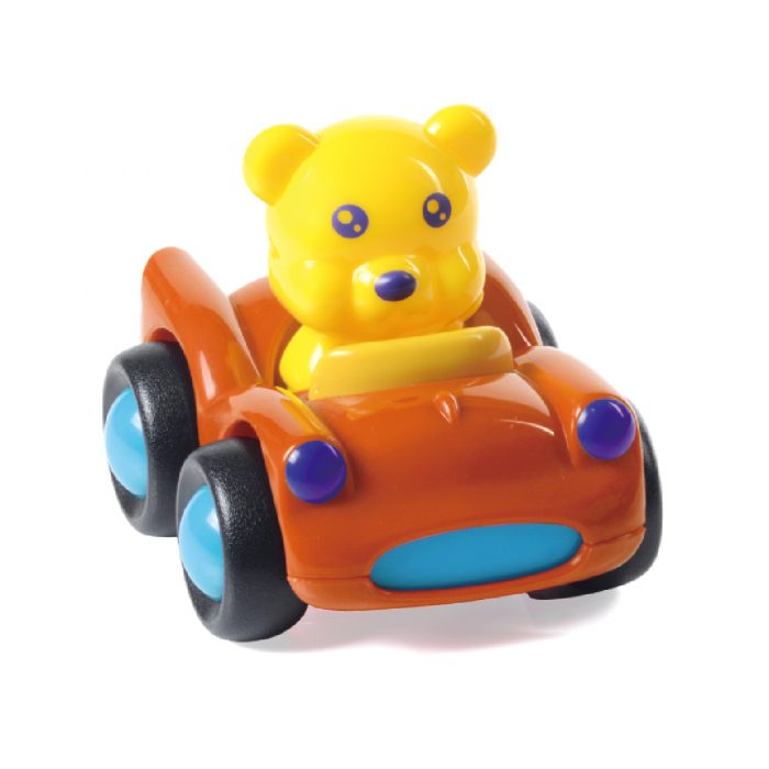 Toy Corvette with Bear