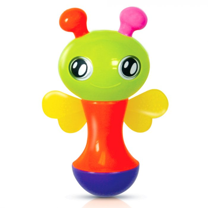 Bee Rattle Toy