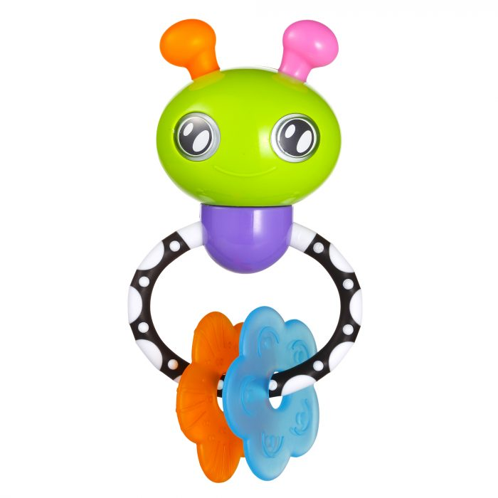 Bee Rattle Toy with Ring (9664-new)