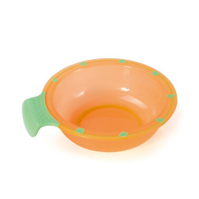 Easy Held Soft Grip Feeding Bowl (Translucent)