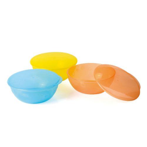 Bowl w / lids (set of 3 pcs)
